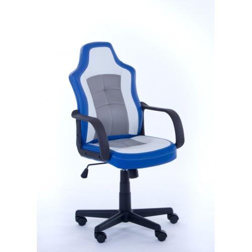 weiß Jacky Drehstuhl Kinderstuhl Chefsessel Bürostuhl 60260BW7 Blau