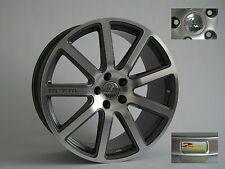MTM Bimoto Felge 9x20 ET 42 39 37 Titanpoliert 5x112 57,1 66,5 Audi VW Alufelge