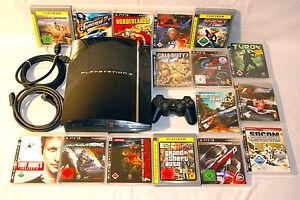 Sony-PlayStation-3-CECHC04-Piano-Black-60-GB-PS3-Spielekonsole-vom-Haendler