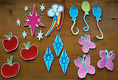 NEW UNUSED My Little Pony Apple Jack Cutie Marks Embroidered Patch