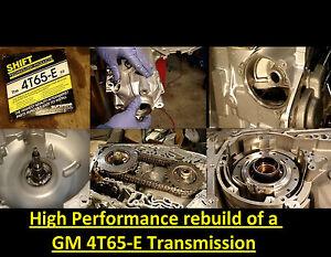 hp dvd video transmission rebuild manual 4t65 e 4t65e trans kit high rh ebay com 4T65E Transmission Diagram 4T65E Transmission Problems