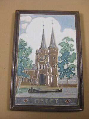Pottery & China Delft Porceleyne Fles Delft Tile Delf Beautiful In Colour