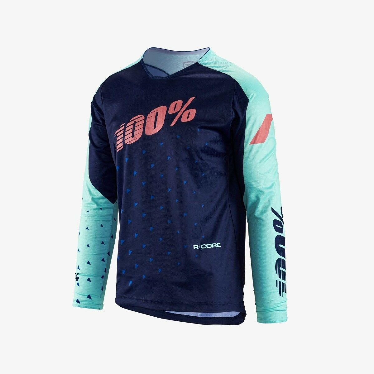 100% RCore DH Jersey Navy XLG