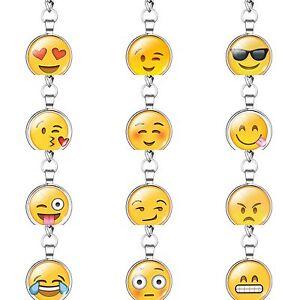 Emoji Schlüsselanhänger Farbe Silber Bunt Kuss Liebe Lustig