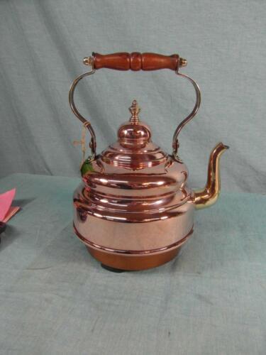 Wasserkessel Antik Stil Kessel Wasserkocher Kupfer Messing Vintage Protherm 4c2