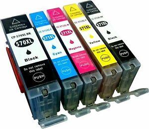 PGI570XL-CLI57-Cartouche-encre-pour-Canon-TS8050-TS8052-TS8053-TS9050-TS9055