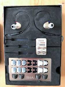 RHA 20i Silver High Fidelity Stainless Steel Noise Isolating InEar Headphone - Huddersfield, United Kingdom - RHA 20i Silver High Fidelity Stainless Steel Noise Isolating InEar Headphone - Huddersfield, United Kingdom
