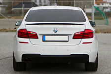 BMW F10 5 Series ABS Euro Rear Trunk Boot Spoiler Lip Wing Sport Trim Lid M M5 -