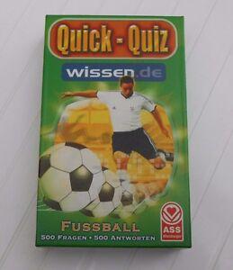 """""""ASS"""" Quick-Quiz wissen.de FUSSBALL - 500 Fragen 500 Antworten - Deutschland - """"ASS"""" Quick-Quiz wissen.de FUSSBALL - 500 Fragen 500 Antworten - Deutschland"""