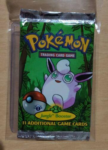 Pokemon Tcg 1st edition jungle booster pack mystery loto *READ DESCRIPTION*
