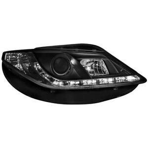 2-X-Phare-Seat-Ibiza-6J-08-Feux-de-Circulation-Diurne-LED-Noirs-1015630