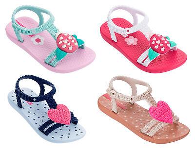 Kids My First Heart/Ladybird Flip Flops