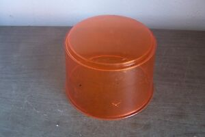 VINTAGE•OBSOLETE• FEDERAL model 14 amber dome