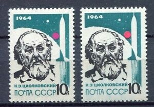 28737) Russia 1964 MNH New Leaders IN Rocket Theory 1v