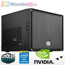 PC GAMING Micro Mini Itx G4560 Dual Core - Ram 8 GB DDR4 - HD 1 TB - GTX 1050