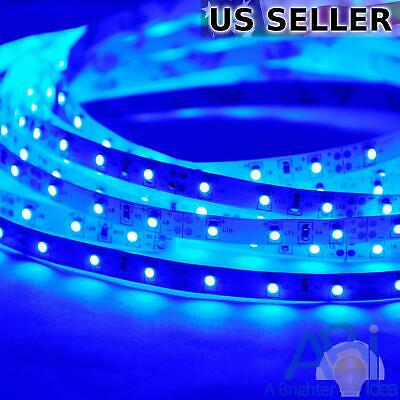 SMD 2835 Warm White 2800K 5M ABI 300 LED Strip Light Kit w// Power Supply 12V