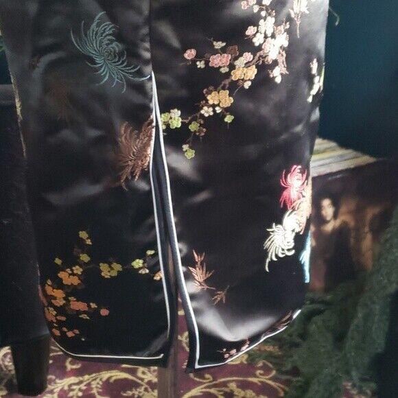 Vintage Authentic Chinese Cheongsam Qipao Brocade… - image 7