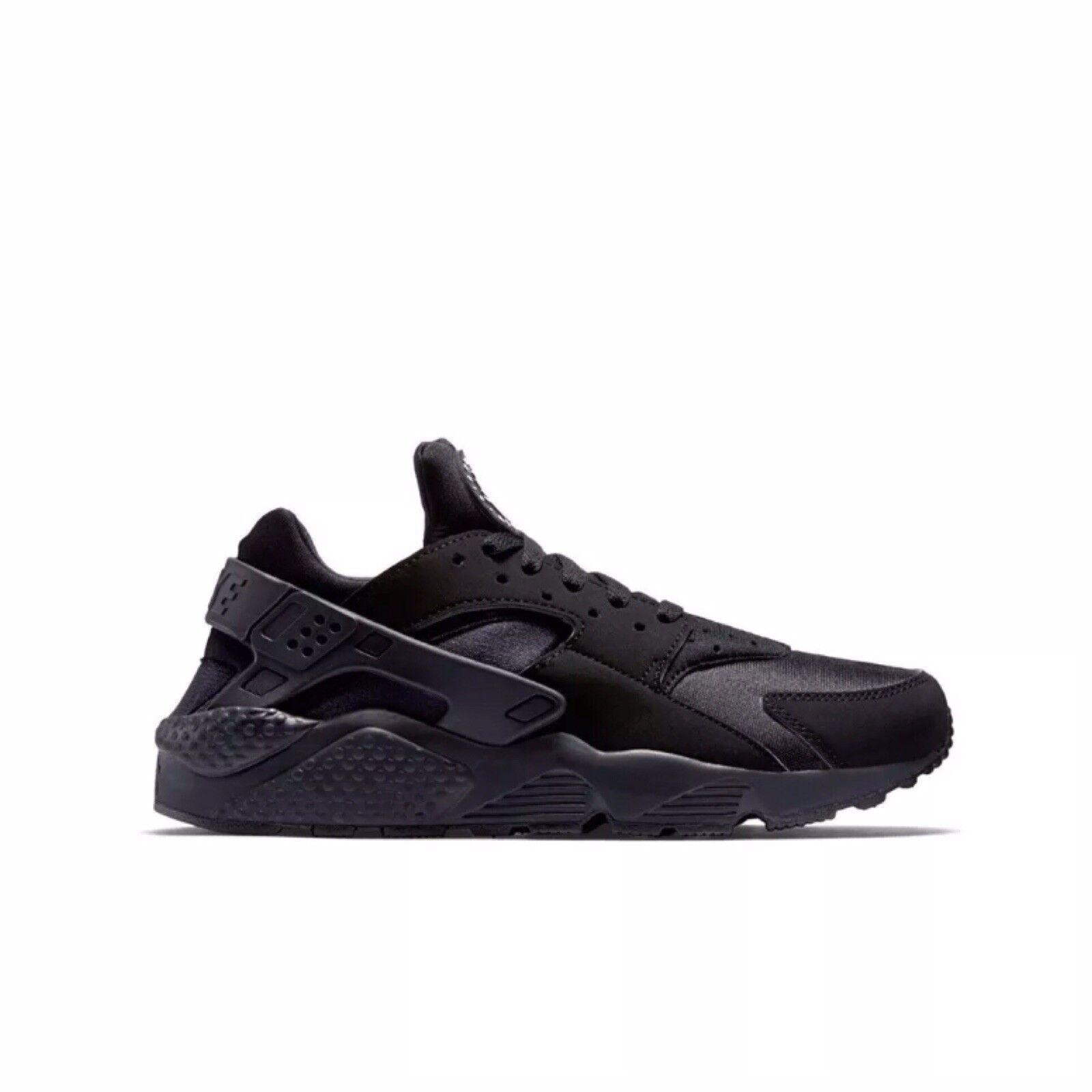 Nike Air Huarache Men's 318429-003 Black Athletic Running Training shoes Sz 10