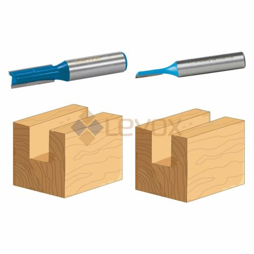 8mm /& 12mm Shank Straight Metric Router Cutter Bit Woodwork TCT Kitchen