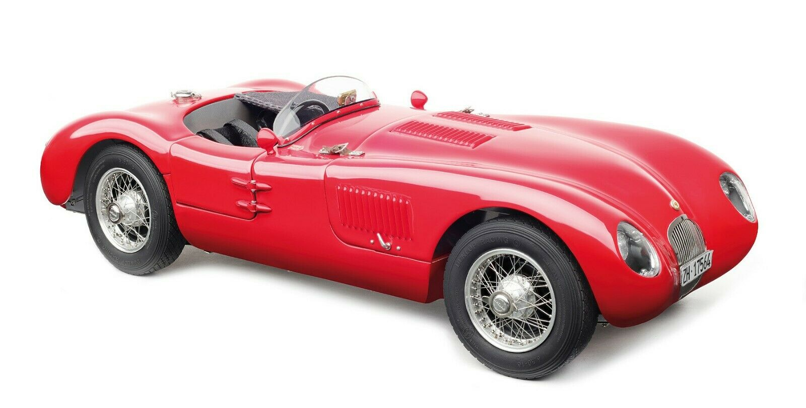 CMC 193 - Jaguar C Type 1952  XKC 023  Rouge 1 18