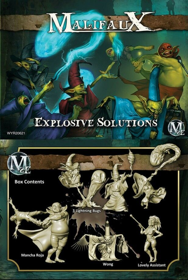 MALIFAUX - WYR20621 Explosive Solutions Wong's Crew Box Set