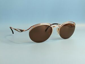 VINTAGE-NEOSTYLE-TITAN-GOLD-STEAMPUNK-SUNGLASSES-MADE-IN-GERMANY