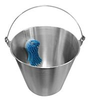 Equine Dentistry Bucket With Brush Stainless Steel Equine Dental Tools