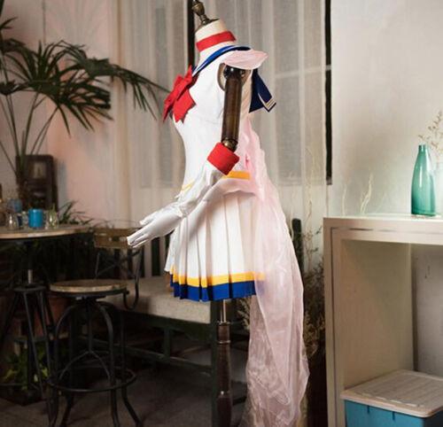 New Sailor Moon Short Sleeves School Uniform Dress Cosplay Costume Customized