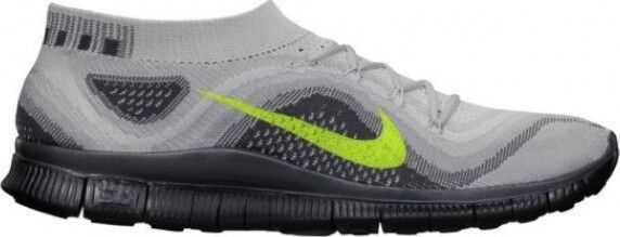 Nike Free Flyknit + NEUF NEUF NEUF gr:40 us:7 Gris Platinum Sneaker Free Presto gris Gris  17545b