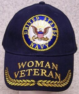 7 of 8 New U.s Military Navy Veteran Hat Embroidered Ball Cap Official Navy  Cap