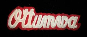 VINTAGE-1960-039-S-1970-039-S-SCHOOL-LOGO-WHITE-AND-RED-PATCH-11-034-X-4-034