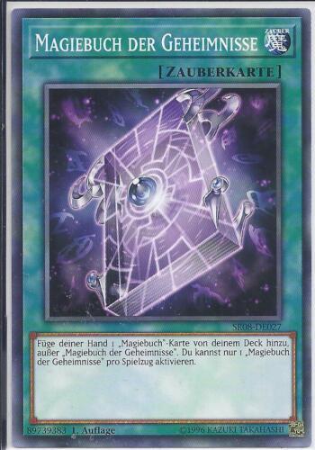 Yu-Gi-Oh! DE Magiebuch Der Geheimnisse SR08-DE027 Common 1.Auflage
