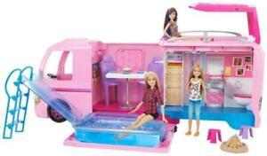 Barbie camper dei sogni con piscina mattel..