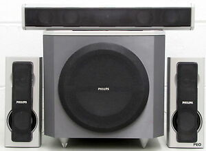 Philips Surround Sound Speakers With Subwoofer SW6300D ...