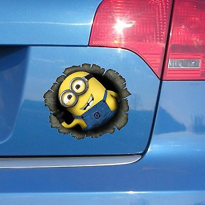 Minion Decals Collection On EBay - Minion custom vinyl decals for car
