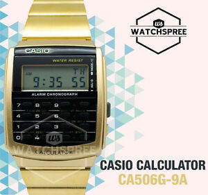 Casio-Calculator-Watch-CA506G-9A-AU-FAST-amp-FREE