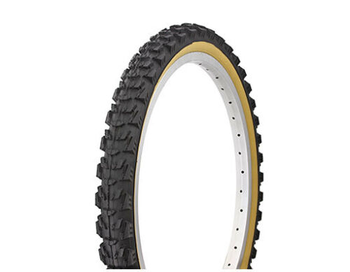 """20/"""" x 2.00 Bicycle Tire w//Gum Wall or All Black DURO Rocky Fighter BMX MTB Bikes"""