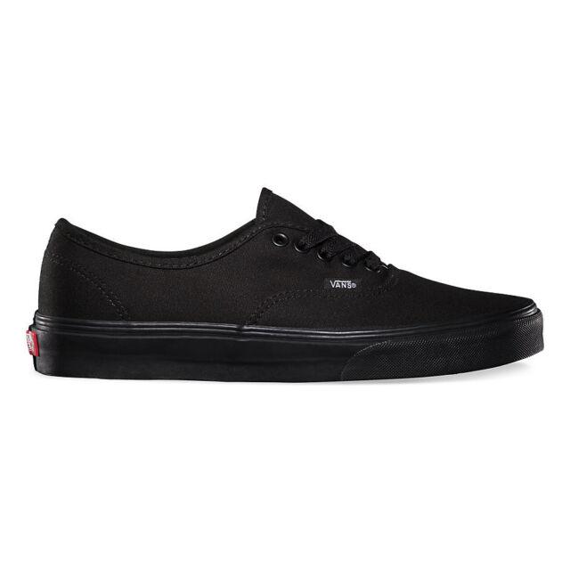 VANS Authentic Black Canvas Men Shoes