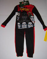 2 Pair Lego Star Wars Boy's Cotton Winter Pajama Sets Empire Rebels Size 4