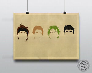 5 SECONDS OF SUMMER  5SOS Minimalist Poster Silhouette Music Hair Minimal RARE - Matlock, Derbyshire, United Kingdom - 5 SECONDS OF SUMMER  5SOS Minimalist Poster Silhouette Music Hair Minimal RARE - Matlock, Derbyshire, United Kingdom