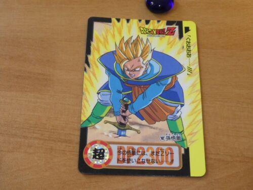 DRAGON BALL Z DBZ HONDAN PART 20 CARDDASS CARD REG CARTE 162 JAPAN 1994 NM