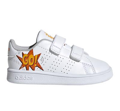 Adidas Chaussures Fille Mode Baskets École Enfants Bébé Avantage Bébés EF0305   eBay