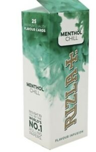 Rizla-Infusion-Cards-25-X-56-1400-Pieces-MENTHOL-CHILL-Cheapest-On-eBay