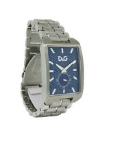 Dolce & Gabbana Time DW0638 Men's Stainless Steel Rectangular Analog Watch