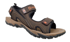 Men-039-s-Size-8-MIKK2-Nubuck-Sandals-from-Outbound-New-with-Tags-Dark-Brown