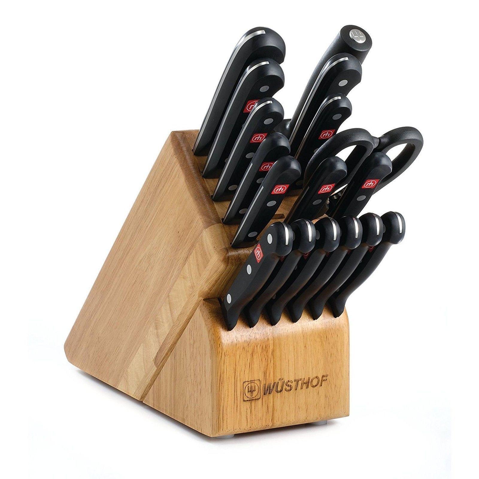 Wusthof 9718 Gourmet 18 pièces Bloc à Couteaux Set livraison gratuite états-Unis Uniquement