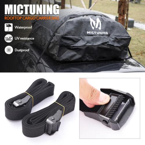 MICTUNING Car Top Carrier Roof Bag 100/% Waterproof HD Roof Top Luggage Storage