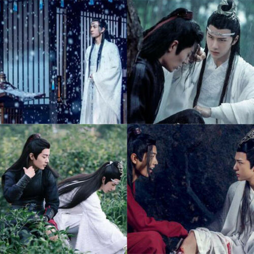 New 1230//310pcs The Untamed Postcard Sticker Star Poster Xiao Zhan Wang Yibo JE