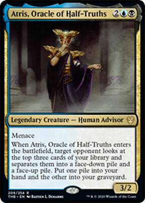Oracle of Half-Truths Theros Beyond Death RARE NM//M SKU#325 MTG x4 Atris
