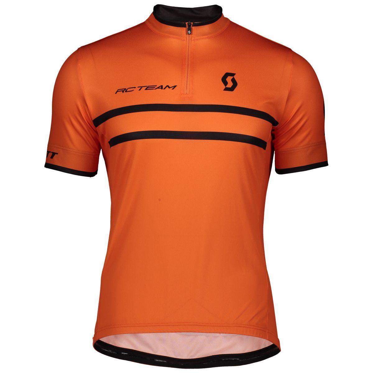 Scott RC Team 20 Fahrrad Trikot Trikot Fahrrad kurz Orange/schwarz 2019 5d87f7